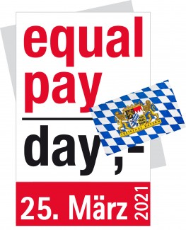 Equal Pay Day Bayern